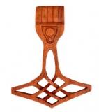 Thor Hammer klein (Holz, Handgeschnitzt)