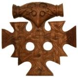 Thors Hammer Hiddensee Antik (Holz, Handgeschnitzt)