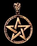 Anhänger Pentagramm Celtic