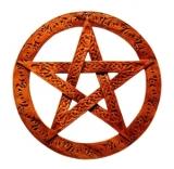 Pentagramm Celtic (Holz Wandschmuck)