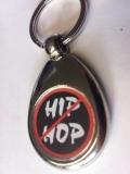 Hip-Hop Verbot - Schlüsselanhänger aus Metall