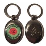 Grüne - Nein Danke (Schlüsselanhänger mit Einkaufswagen-Chip in