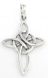 Aline - Keltisches Kreuz (Kettenanhänger in Silber)