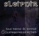 Sleipnir - Das Demo + Bonus & Kriegsverbrechen CD